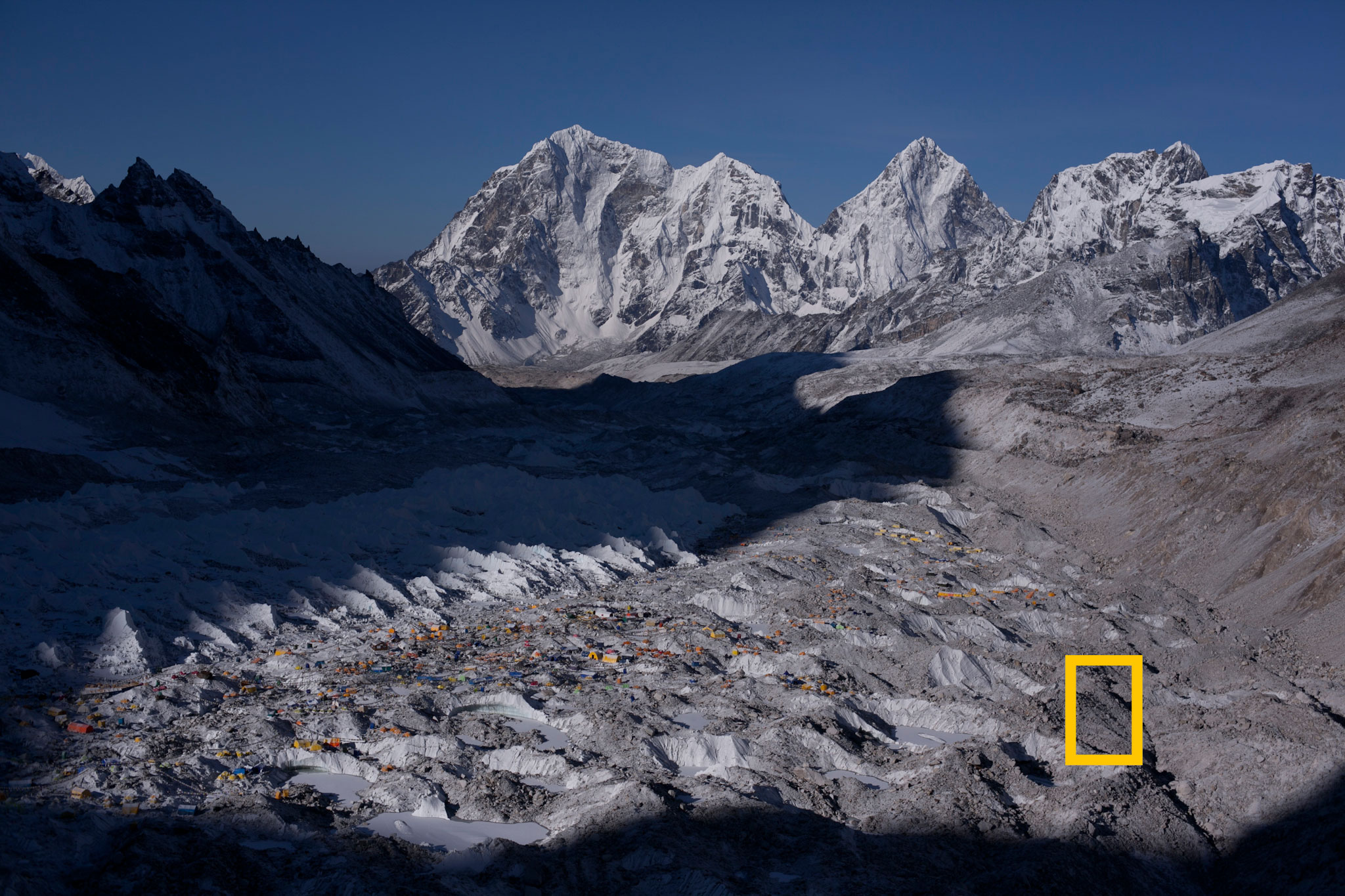 Everest Basecamp at Dawn – National Geographic, June 2013